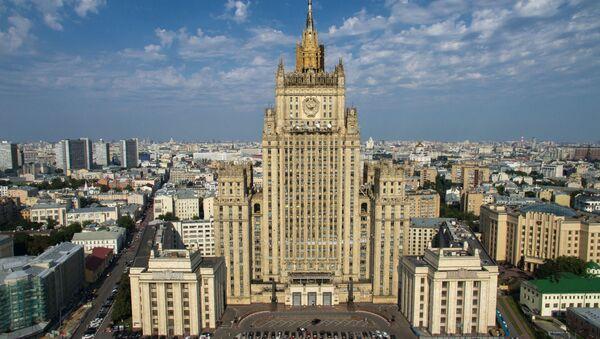 Budynek Ministerstwa Spraw Zagranicznych Rosji w Moskwie - Sputnik Polska