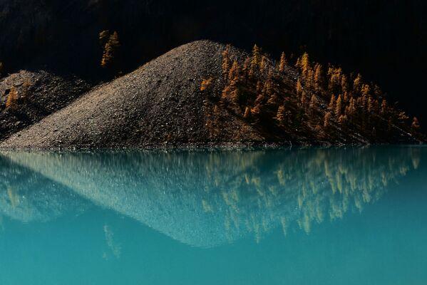 Jezioro Szawlińskie w rejonie kosz-agackim w Republice Ałtaj - Sputnik Polska