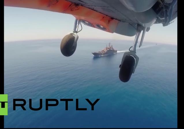 Wspólne rosyjsko-chińskie ćwiczenia wojskowe na Morzu Śródziemnym