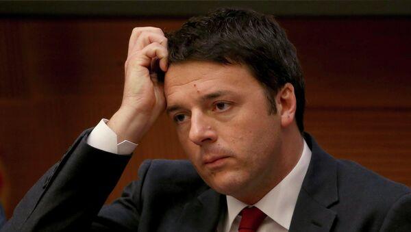 Matteo Renzi - Sputnik Polska