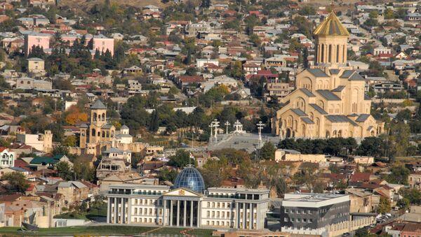 Widok Tbilisi  - Sputnik Polska