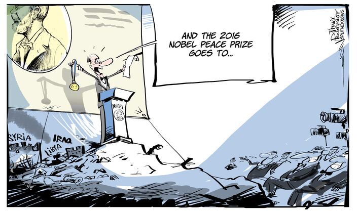 Pokojowa Nagroda Nobla trafia do...