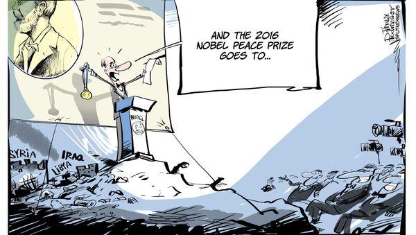 Pokojowa Nagroda Nobla trafia do... - Sputnik Polska