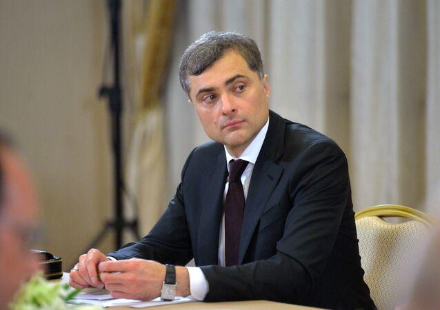 Doradca prezydenta Rosji Władysław Surkow