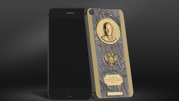 iPhone 7S z wizerunkiem Władimira Putina - Sputnik Polska