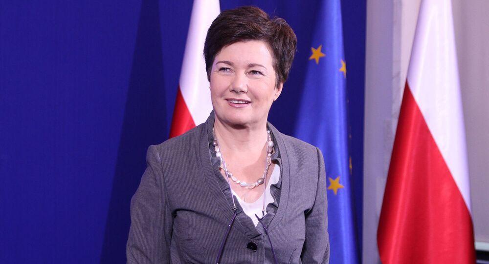 Polska. Warszawa. Hanna Gronkiewicz-Waltz