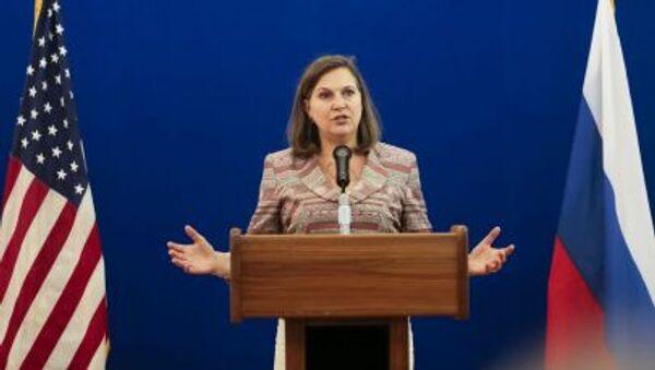 Asystentka sekretarza stanu USA ds. europejskich i euroazjatyckich Victoria Nuland - Sputnik Polska