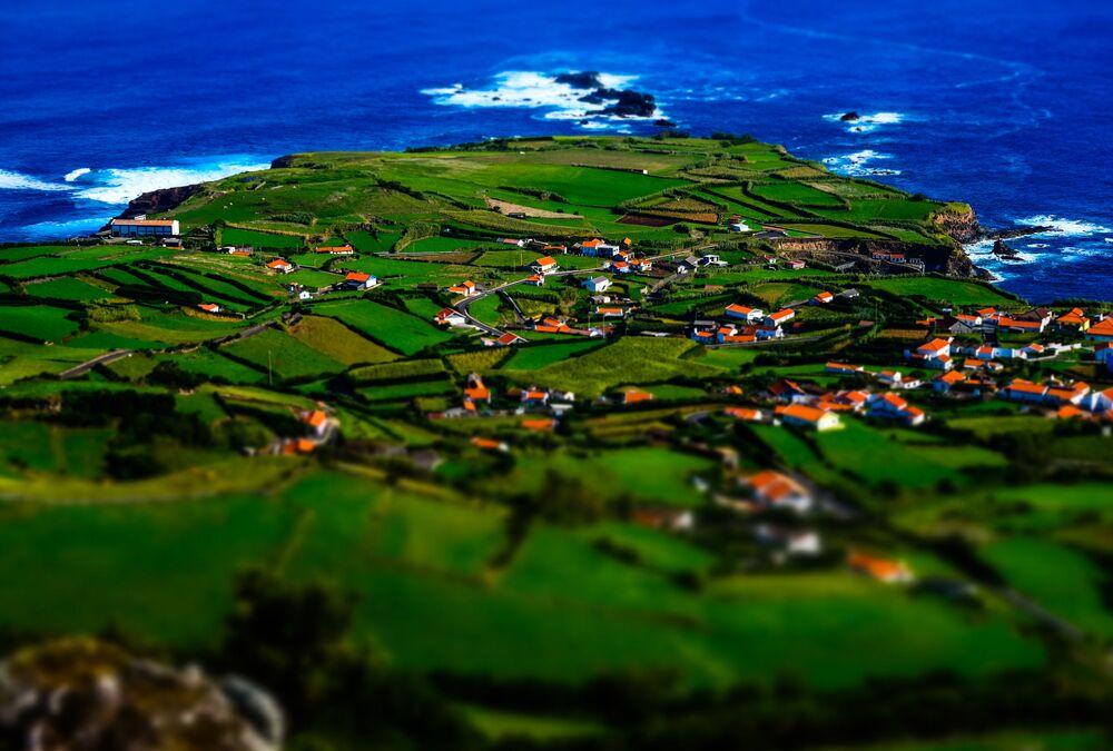 Wyspa Flores w Portugalii
