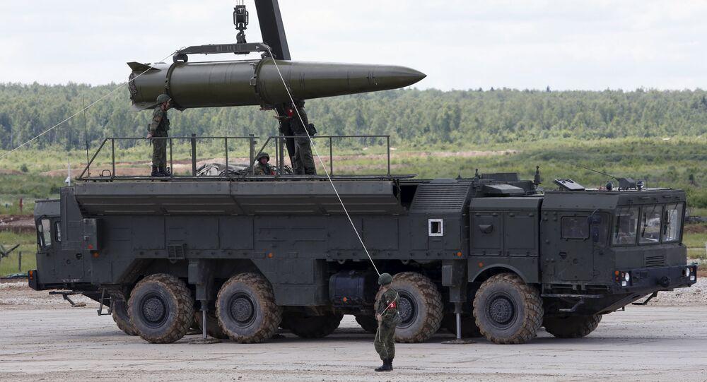 Raketensystem Iskander