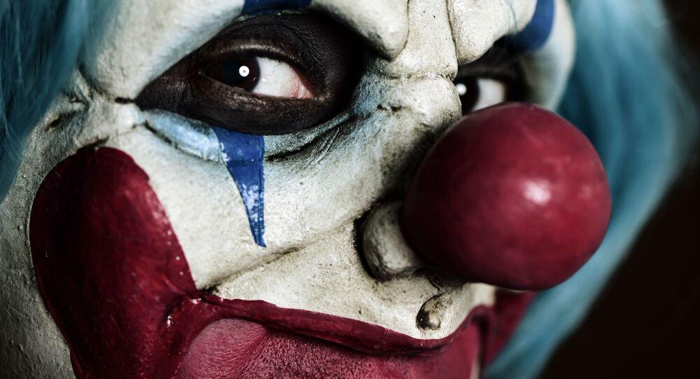 Przerażający klaun