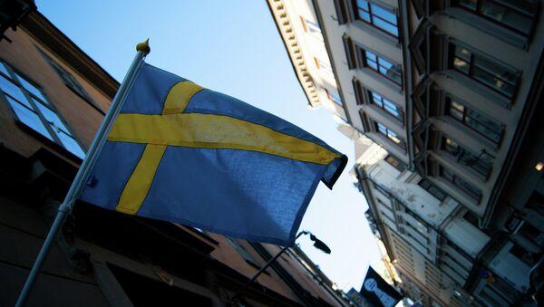 Flaga Szwecji - Sputnik Polska