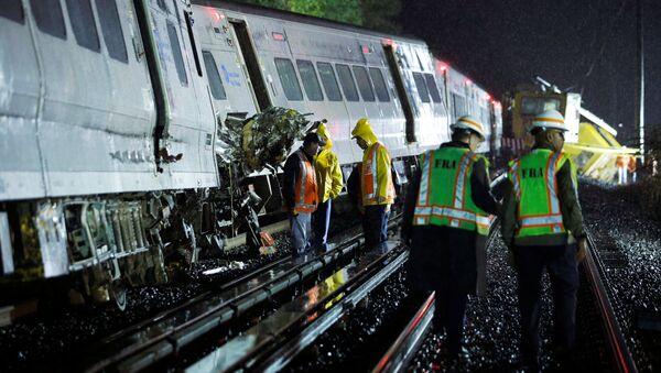 Katastrofa kolejowa w USA. Wielu rannych - Sputnik Polska