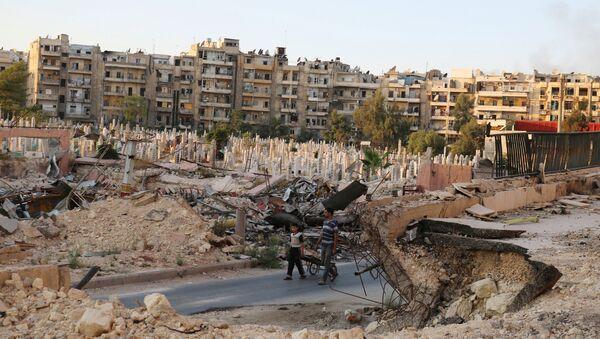 Syria, okolice Aleppo, 6 października 2016 - Sputnik Polska