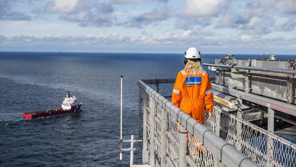 Brage Platform Wintershall Norge - Sputnik Polska