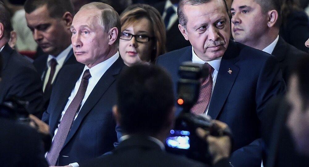 Władimir Putin w Stambule