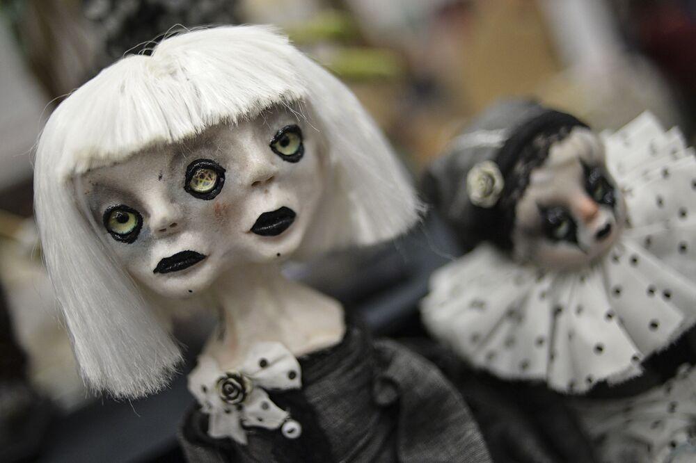 Lalki na 12. Międzynarodowej Wystawie Salon Lalki Autorskiej w Moskwie