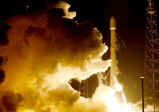Start rakiety Falcon na Florydzie