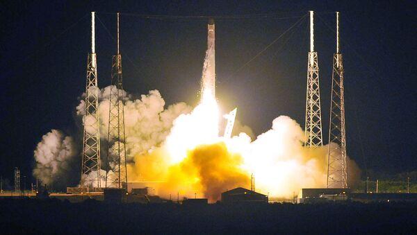 Start rakiety Falcon - Sputnik Polska