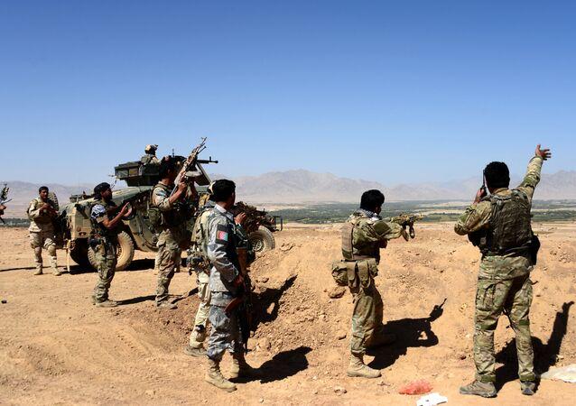 Operacja afgańskich sił bezpieczeństwa przeciwko talibom