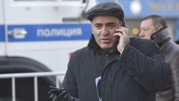 Lider Zjednoczonego Frontu Obywatelskiego Garri Kasparow - Sputnik Polska