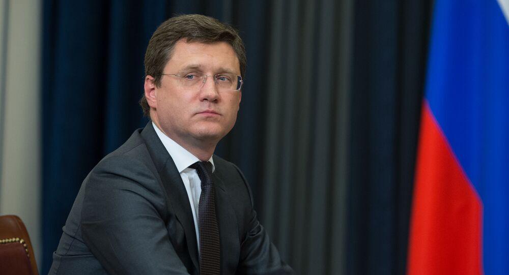 Rosyjski minister energetyki Aleksander Nowak