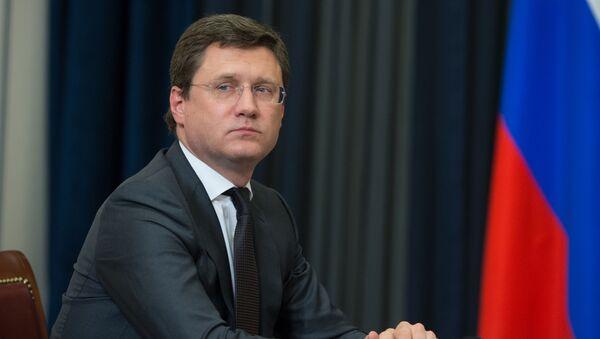 Rosyjski minister energetyki Aleksander Nowak - Sputnik Polska