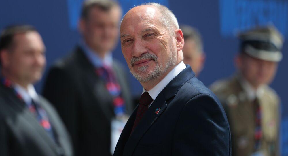 Minister obrony Poslki Antoni Macierewicz