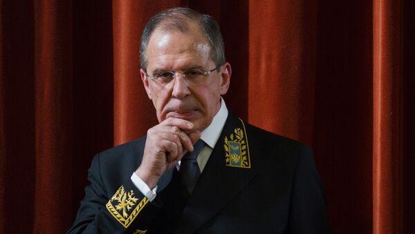 Minitser spraw zagranicznych Siergiej Ławrow - Sputnik Polska