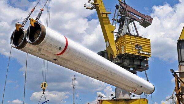 Budowa gazociągu Turecki Strumień - Sputnik Polska