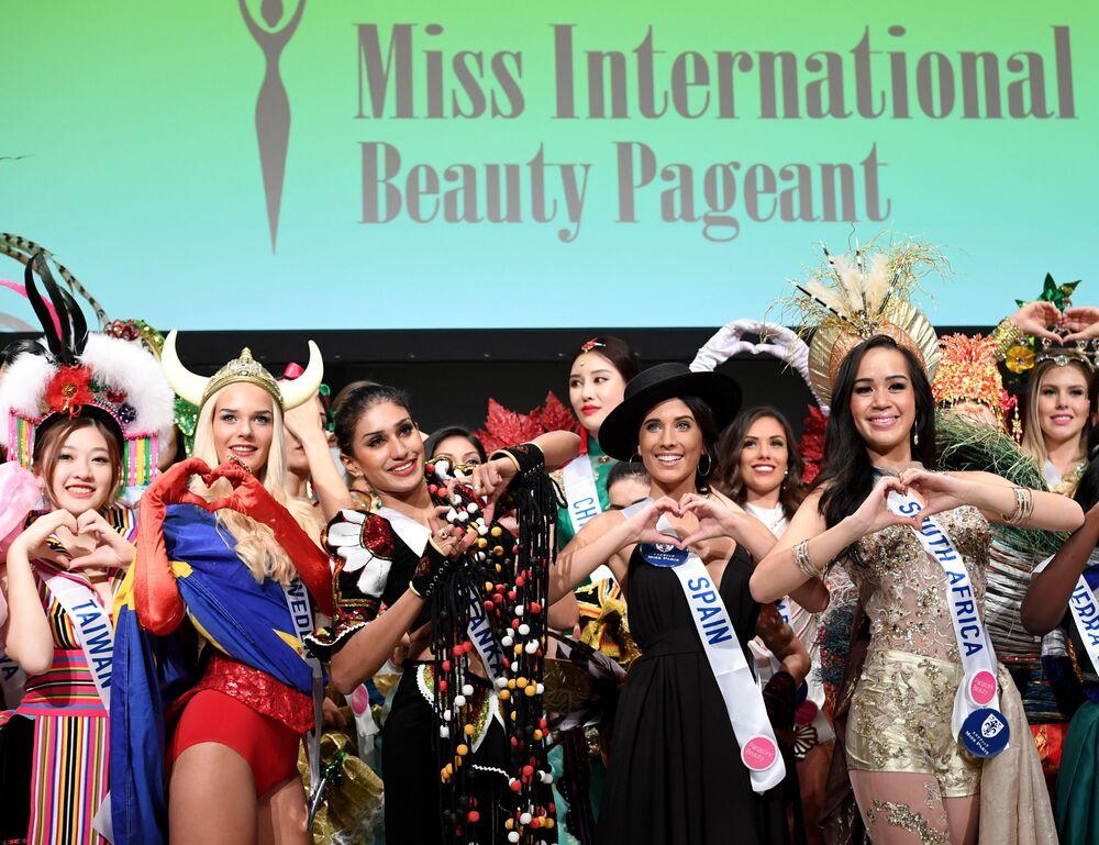 Uczestniczki konkursu Miss International Beauty Pageant 2016 w Tokio
