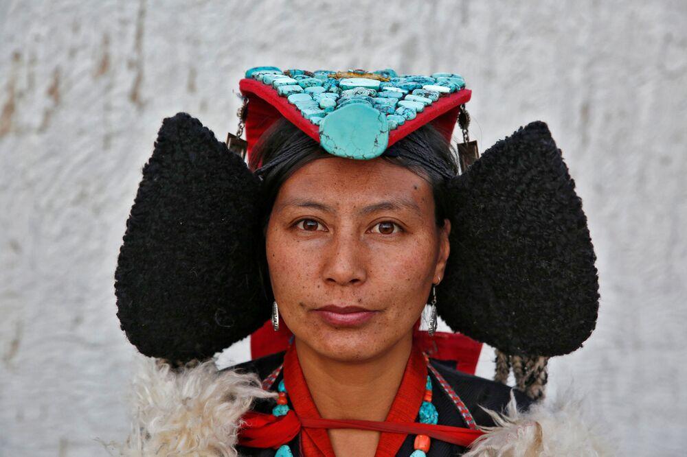 Mieszkanka miasta Leh, Himalaje