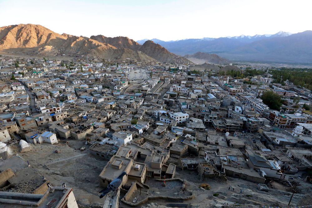 Miasto Leh, Himalaje
