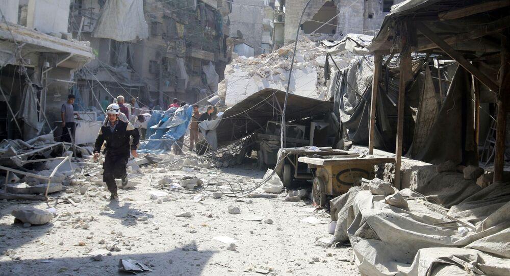 Ulica Aleppo po nalocie