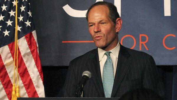 Były gubernator stanu Nowy Jork Eliot Spitzer - Sputnik Polska