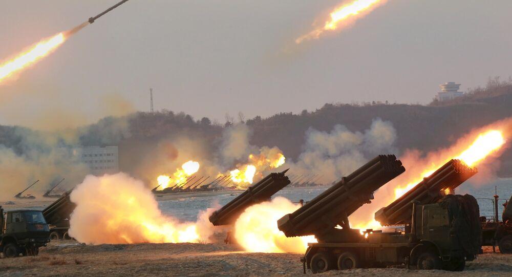 Próby rakietowe w Korei Północnej, marzec 2016