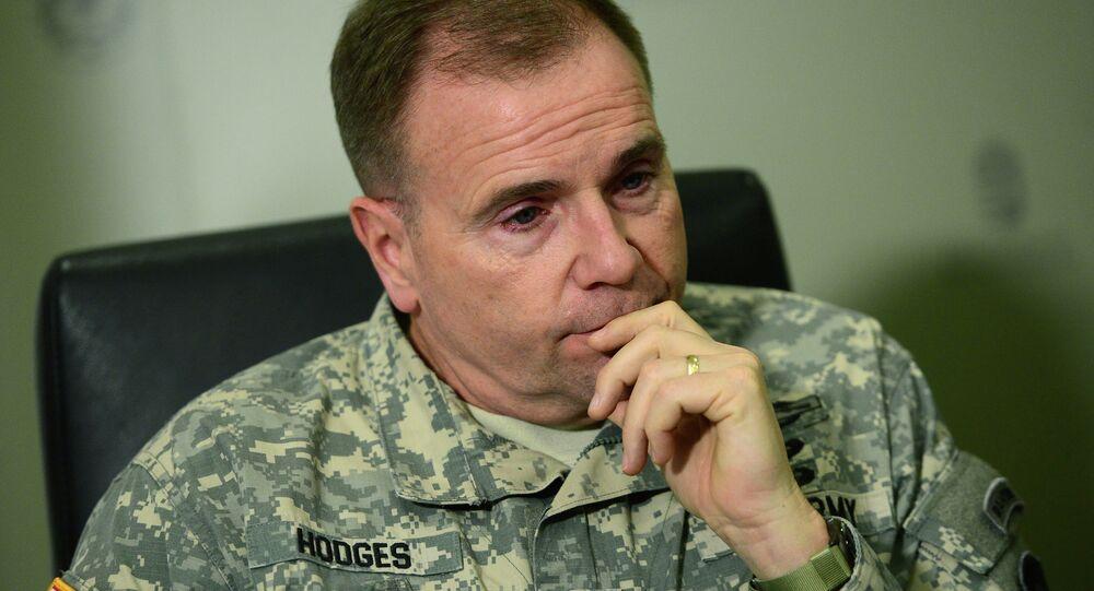 Generał Ben Hodges, dowódca wojsk amerykańskich w Europie