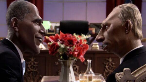 Francuzi pogodzili Obamę i Putina - Sputnik Polska