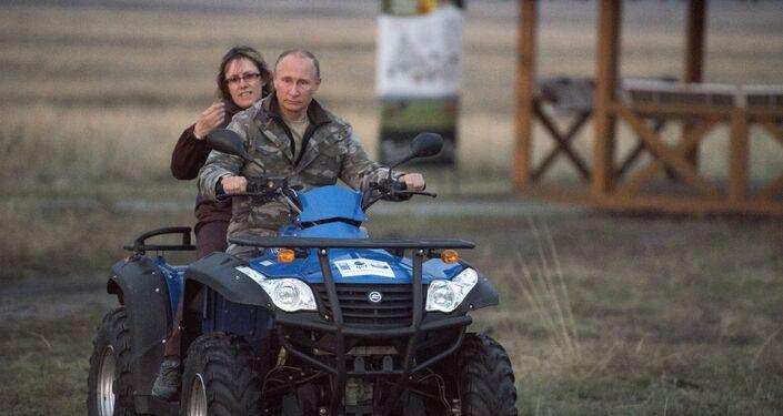 Putin odwiedza Obwód Orenburski