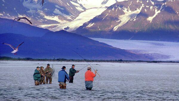 Stan Alaska, rzeka Knik River pod Palmerem - Sputnik Polska