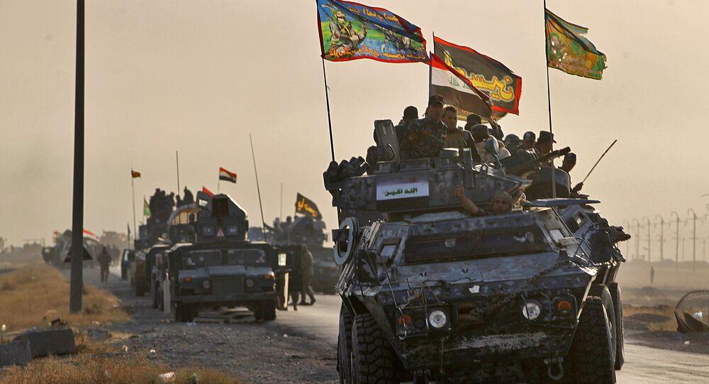 """""""Nadeszła ta godzina i chwila wielkiego zwycięstwa się zbliża… Ogłaszam początek operacji wyzwolenia prowincji Niniwa (Mosul jest jej centrum administracyjnym — red.) — oświadczył premier Iraku Hajdar al-Abadi."""