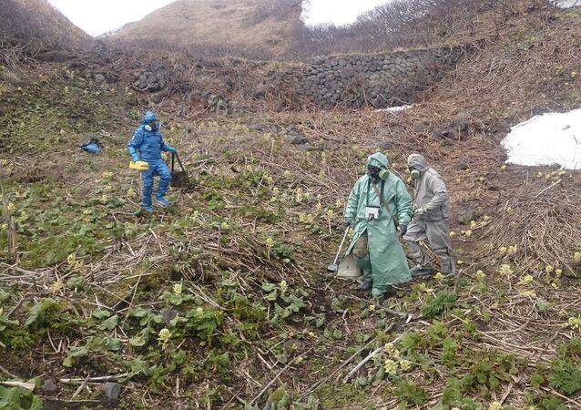Ekspedycja na kurylskiej wyspie Matua