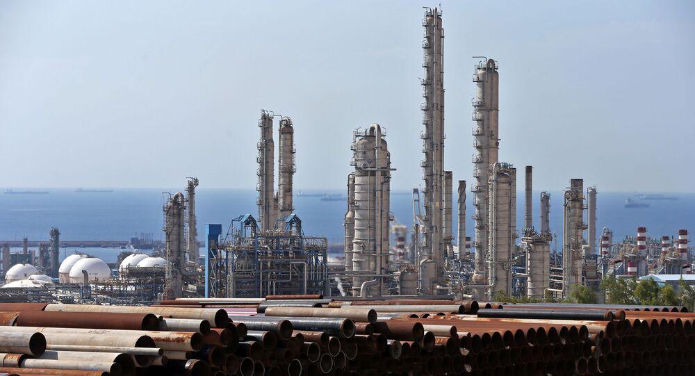 Zakład petrochemiczny w Iranie