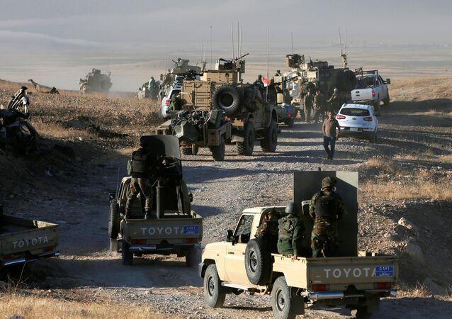 Odbijanie Mosulu, Irak