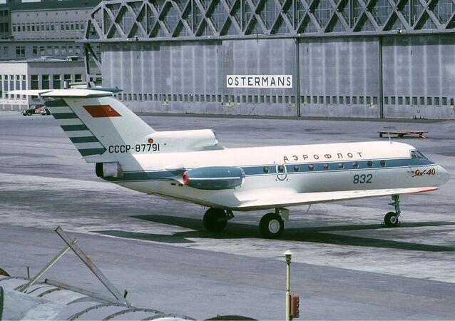 Radziecki samolot Jak-40