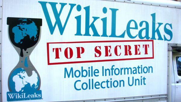 Logo Wikileaks - Sputnik Polska