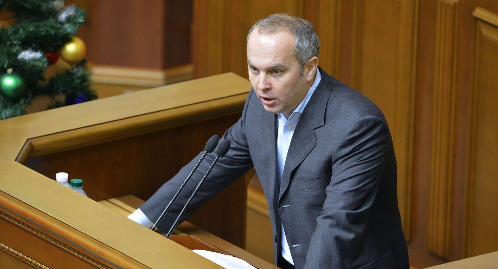 Nestor Szufrycz, deputowany Rady Najwyższej Ukrainy z Bloku Opozycyjnego