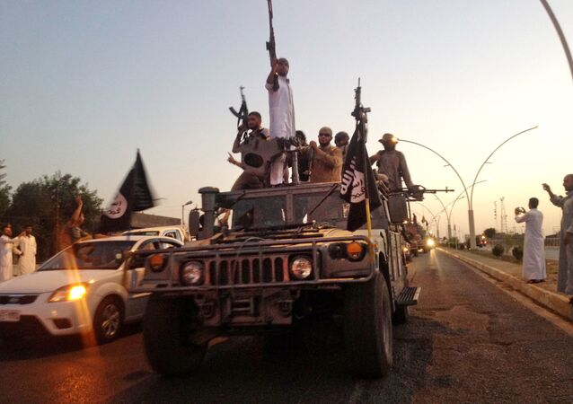 Bojownicy PI w Mosulu