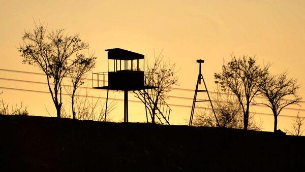 Wieża widokowa na granicy Syrii i Turcji - Sputnik Polska
