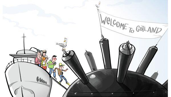 Witamy na Gotland! Mamy dobre miny! - Sputnik Polska