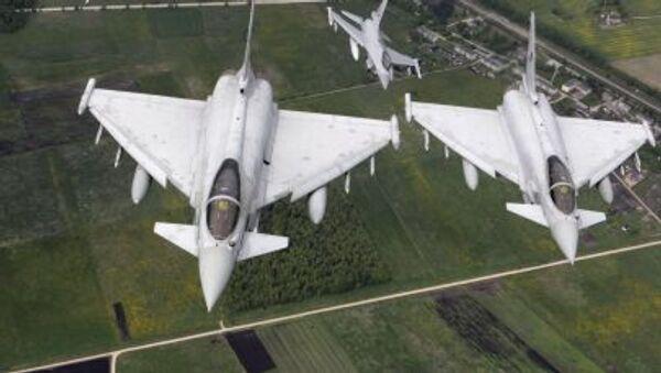 Siły powietrzne Włoch i Norwegii patrolują niebo nad regionem bałtyckim - Sputnik Polska